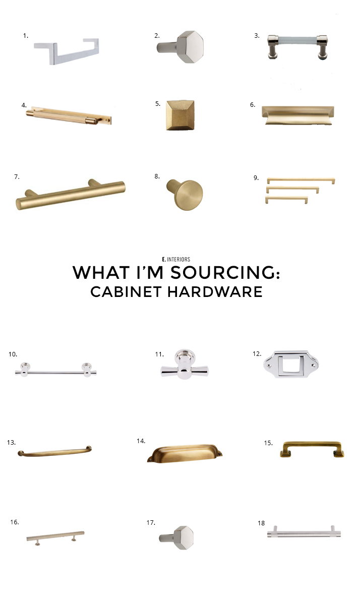 CABINET HARDWARE_edited-1 - THE BEST CABINET HARDWARE by popular home design blogger E. INTERIORS
