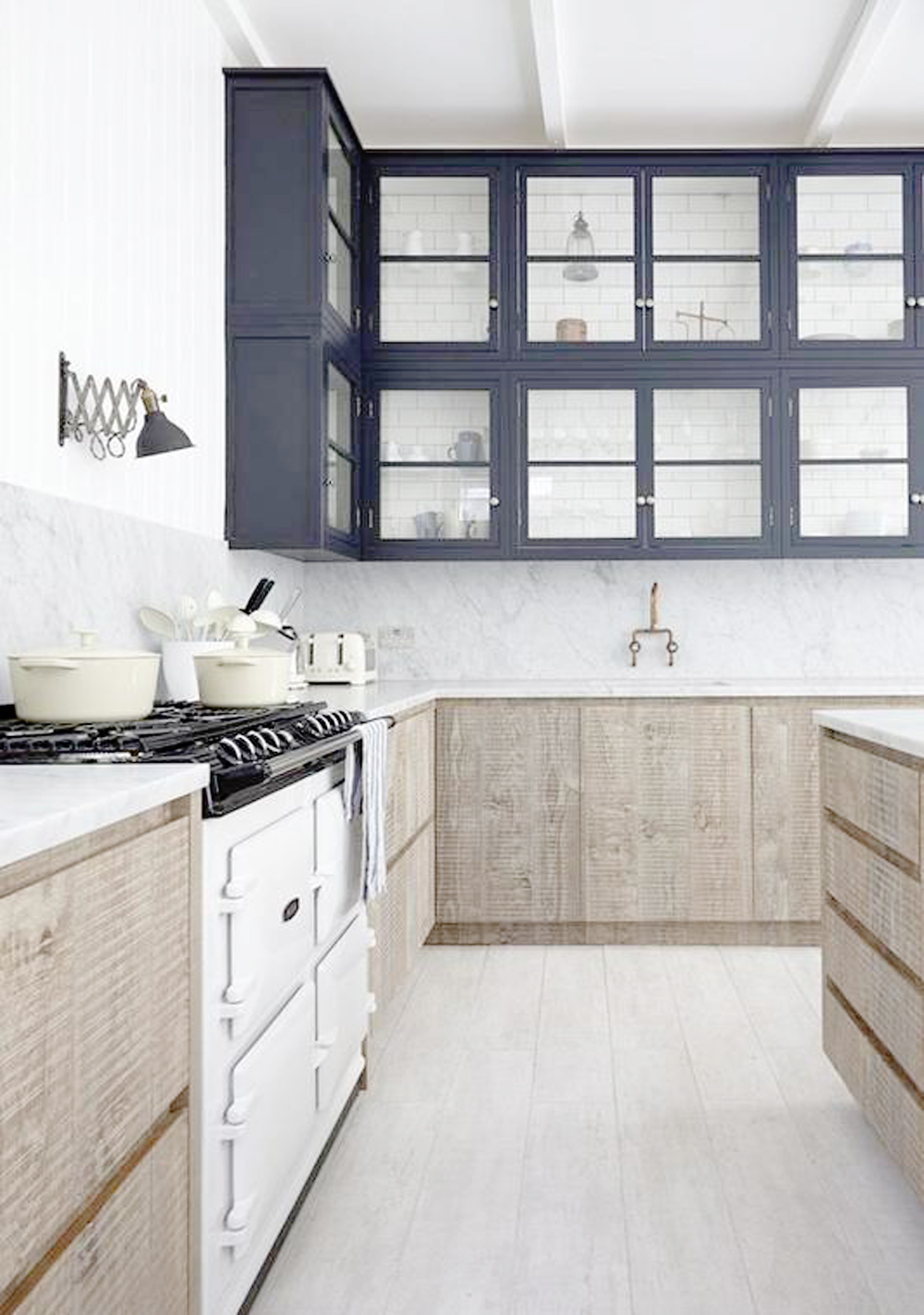 twotoned4 - THE TWO TONE KITCHEN by popular home design blogger E. INTERIORS