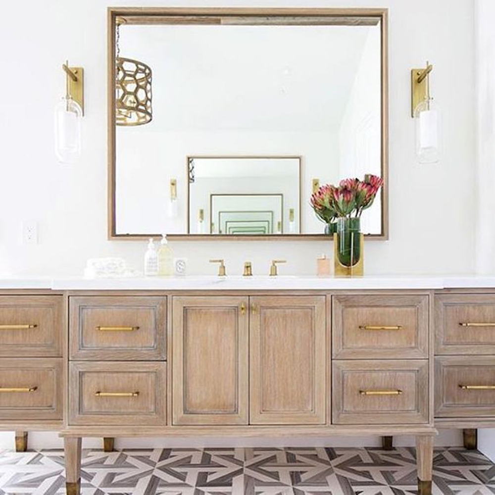13 BEAUTIFUL BATHROOMS I CAN'T STOP THINKING ABOUT by popular home design blogger E. INTERIORS